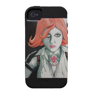 Tätowierungs-Zombie-Mädchen (AOM Entwurf) iPhone 4 Cover