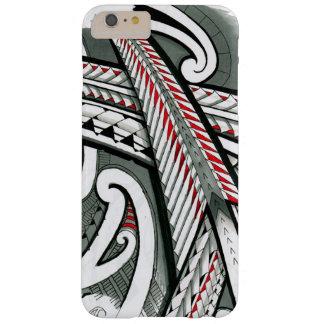 Tätowierungsentwurfs-Insel hawai der polynesischen Barely There iPhone 6 Plus Hülle