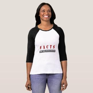 Tatsachen sind nicht Hass-Sprache-T-Stück T-Shirt
