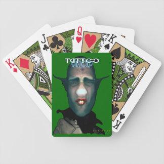 Tattooth ,(The Leader) Bicycle Spielkarten