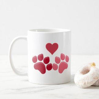 Tatze-fect Liebe Kaffeetasse
