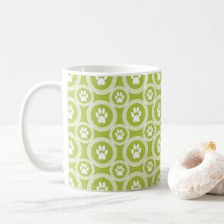 Tatze-für-Kaffee Tasse (Olive)