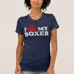 Tatze I mein Boxert-shirt