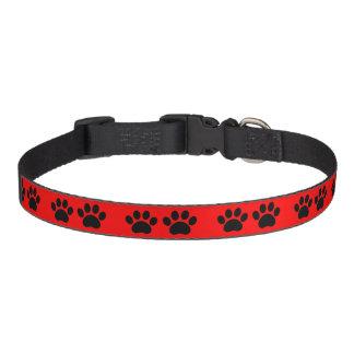 Tatzen-Druck-Entwurfs-Hundehalsband Haustierhalsband