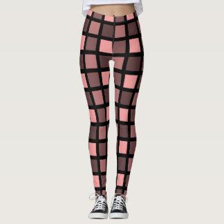Tatzen-Druck-Muster - einfarbige Farbe Leggings