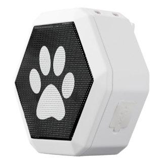 Tatzen-Druck Weiße Bluetooth Lautsprecher