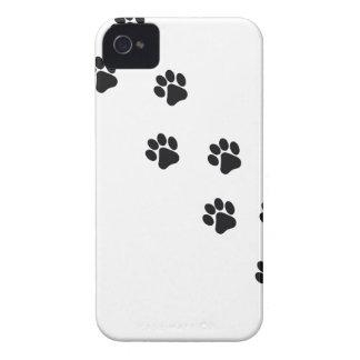 Tatzendruck des lustiger Hundes iPhone 4 Hülle