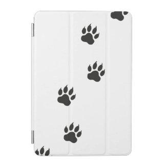 Tatzendrucke einer Katze iPad Mini Cover