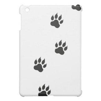 Tatzendrucke einer Katze iPad Mini Hüllen