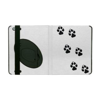 Tatzendrucke eines Hundes Etui Fürs iPad