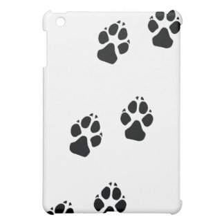 Tatzendrucke eines Hundes Hülle Für iPad Mini