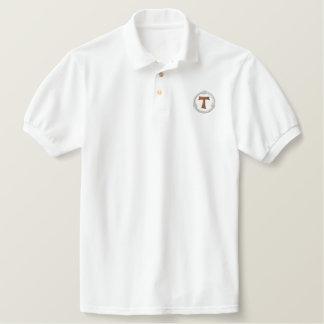 Tau-Franziskanerkreuz - TAU francescana Besticktes Polo Shirt