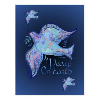Taube der Friedenspostkarte Postkarte