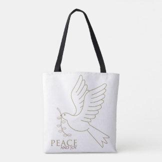 Taube des Friedens Tasche