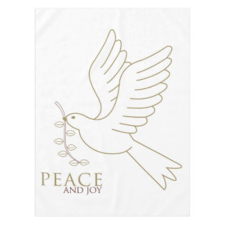 Taube des Friedens Tischdecke