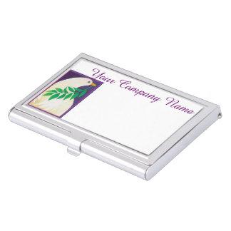 Taube des Friedens Visitenkarten Etui
