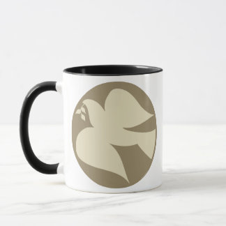 Taube des Friedenszeichens Tasse