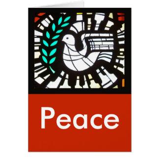 Taube -- Frieden mit Shakespeare Karte