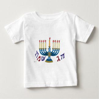 Taube Hanukiah Baby T-shirt