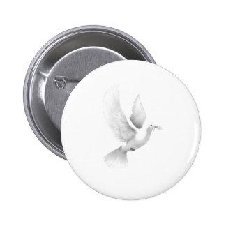Taube Runder Button 5,7 Cm