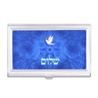 Taube - Shalom Visitenkarten Etui