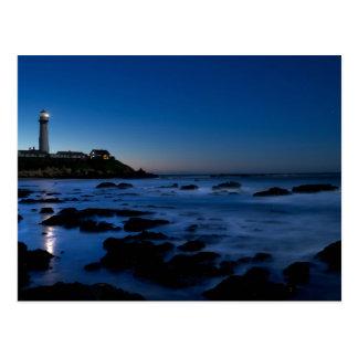 Tauben-Punkt-Leuchtturm | Half Moon Bay, Ca Postkarte