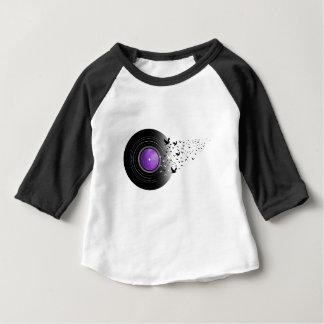 Tauben-Schrei-Aufzeichnung Baby T-shirt
