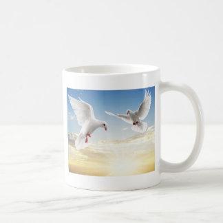 Tauben Kaffeehaferl