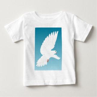 Tauben-Vogel-Vogel-Feder-Natur-Tier-Flügel Baby T-shirt