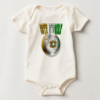 Taubenschlag divoire Logo-Fußballfangeschenke Baby Strampler