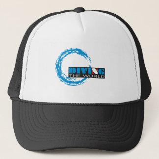 Tauchen die Welt, Sporttauchen-T - Shirt Truckerkappe