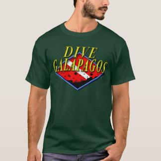 Tauchen-Galapagos-Dunkelheits-T - Shirt