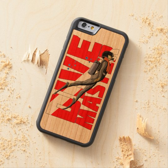 Tauchen-Meister Bumper iPhone 6 Hülle Kirsche