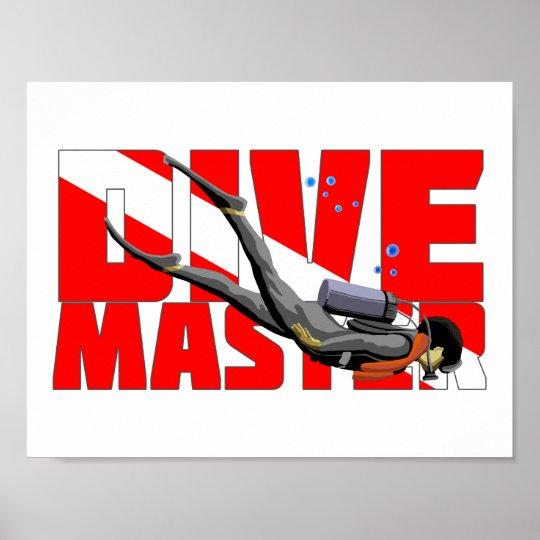 Tauchen-Meister Poster