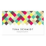 Tauchen Sie ein in Farbe Visitenkarten Business Card Templates
