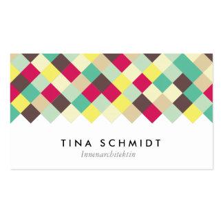 Tauchen Sie ein in Farbe Visitenkarten