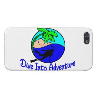 Tauchen Sie in Abenteuer-Ozean-Taucher Schutzhülle Fürs iPhone 5