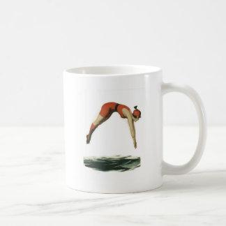 Tauchen Sie in Wasser Kaffeetasse