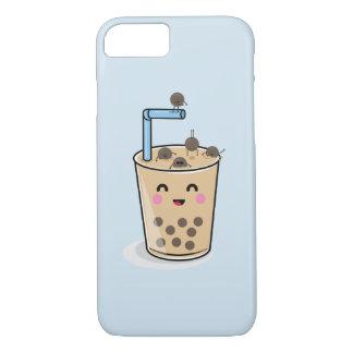 TauchensBoba Perlen-Tee-Telefon-Kasten iPhone 8/7 Hülle