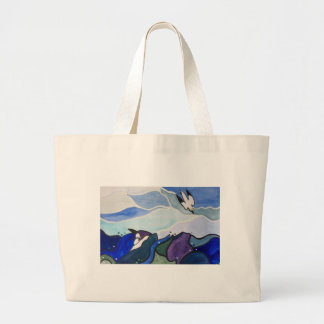 TauchensGannets Malerei-Tasche Jumbo Stoffbeutel