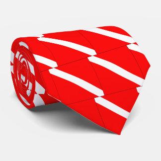 Taucher-unten klassisches Flaggen-Sporttauchen Krawatte