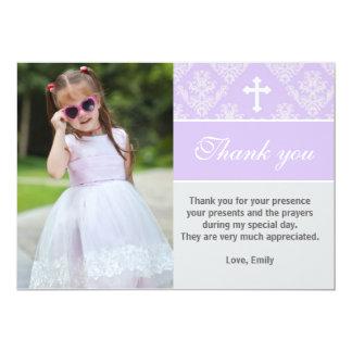 Taufe danken Ihnen, kundenspezifischen Karte