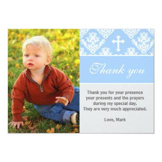 Taufe danken Ihnen, kundenspezifisches Karte