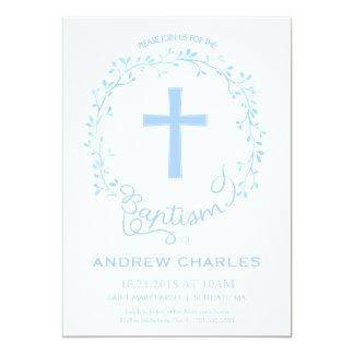 Taufe, Taufeinladung - Baby laden ein Karte
