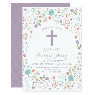 Taufe, Taufeinladung - besonders angefertigt Karte