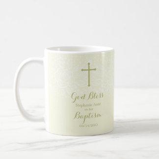 Taufe-weise empfindliche Blumenspitze Kaffeetasse