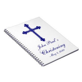 Taufkundenspezifisches Gast-Buch der Taufe-| Notizblock