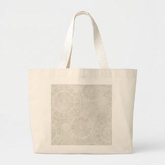Taupe-Elfenbein-Spitzedoily-neutraler Taschen