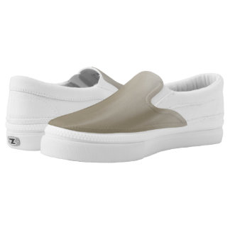 Taupe Ombre Welle Slip-On Sneaker