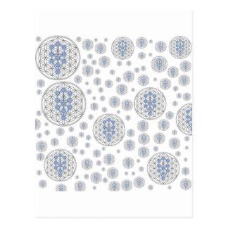 Taurian - Baum des Lebens - Blume des Lebens Postkarte